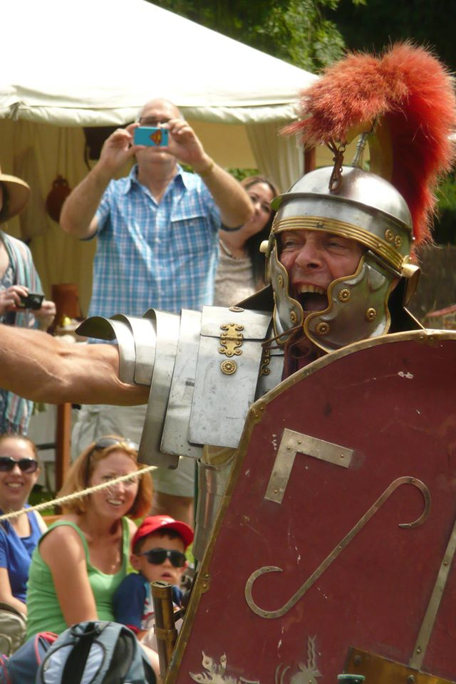 Roman in Battle